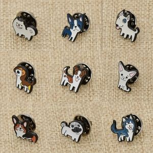 Dog Pet Breed Alloy Pin Brooch Accessory